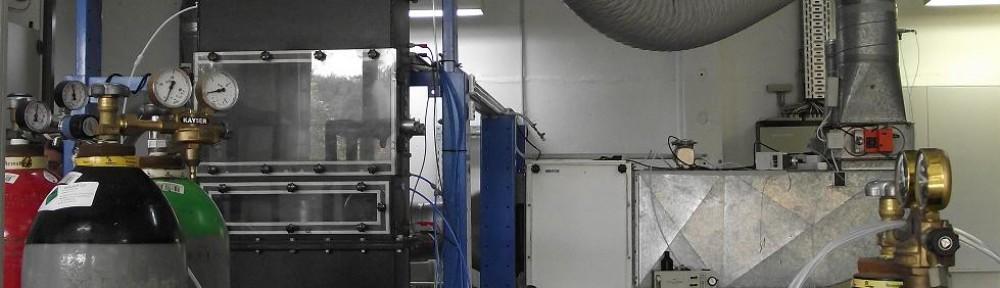 Prüfstand für Adsorption und Partikelfiltration